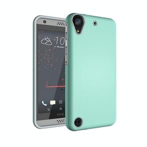 For HTC Desire 530 Ball Texture Anti-slip PC + TPU Protective Back Cover Case(Green)