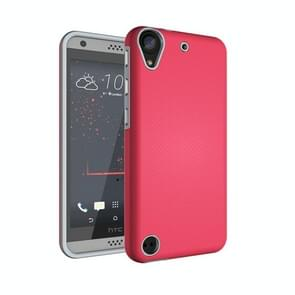 For HTC Desire 530 Ball Texture Anti-slip PC + TPU Protective Back Cover Case(Magenta)