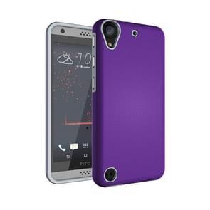For HTC Desire 530 Ball Texture Anti-slip PC + TPU Protective Back Cover Case(Purple)