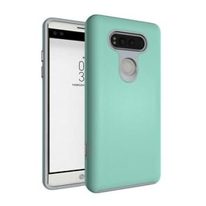 For LG V20 Ball Texture Anti-slip PC + TPU Protective Back Cover Case (Green)