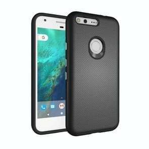 For Google Pixel Ball Texture Anti-slip PC + TPU Protective Back Cover Case(Black)