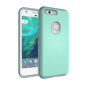 For Google Pixel Ball Texture Anti-slip PC + TPU Protective Back Cover Case(Green)