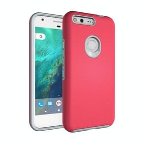 For Google Pixel Ball Texture Anti-slip PC + TPU Protective Back Cover Case(Magenta)