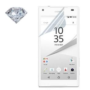 NILLKIN for Sony Xperia Z5 Compact PET Material Bright Diamond Screen Non-full Front + Back Protective Film(Transparent)