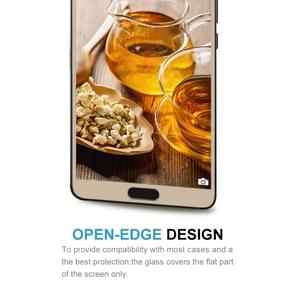 Huawei Mate 10 9H Surface Hardness 2.5D Curved Edge HD Explosion-proof Tempered Glass Screen beschermings (Goud)