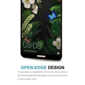 Huawei Mate 10 Pro 9H Surface Hardness 2.5D Curved Edge HD Explosion-proof Tempered Glass Screen beschermings (zwart)