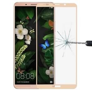 Huawei Mate 10 Pro 9H Surface Hardness 2.5D Curved Edge HD Explosion-proof Tempered Glass Screen beschermings (Goud)