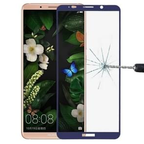 Huawei Mate 10 Pro 9H Surface Hardness 2.5D Curved Edge HD Explosion-proof Tempered Glass Screen beschermings (blauw)