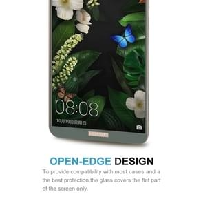 Huawei Mate 10 Pro 9H Surface Hardness 2.5D Curved Edge HD Explosion-proof Tempered Glass Screen beschermings (Mocha Goud)