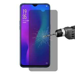 ENKAY Hat-Prince 0.26mm 9H 2.5D Privacy Anti-glare Tempered Glass Film for OPPO R17