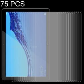 75 PCS 0.26mm 9H Surface Hardness Explosion-proof Tempered Glass Film for Huawei MediaPad T5 10.1
