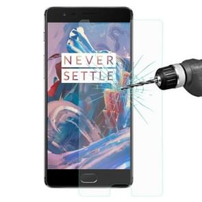 ENKAY OnePlus 3 & 3T 0.26mm 9H Hardness 2.5D Curved Explosion-proof Tempered Glass Film