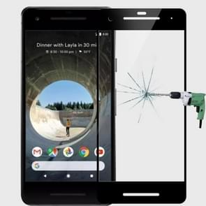 MOFI for Google Pixel 2 9H Surface Hardness 2.5D Arc Edge Full Screen Tempered Glass Film Screen Protector(Black)