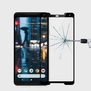 MOFI for Google Pixel 2 XL 9H Surface Hardness 2.5D Arc Edge Full Screen Tempered Glass Film Screen Protector(Black)