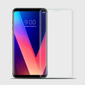 MOFI for LG V30 9H Surface Hardness 3D Curved Edge Full Screen HD Tempered Glass Film Screen Protector (Transparent)