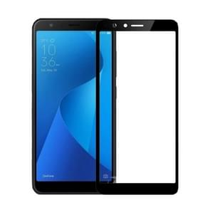 MOFI for Asus Zenfone Max Plus (ZB570TL) 9H Surface Hardness 2.5D Arc Edge Full Screen HD Tempered Glass Film Screen Protector (Black)