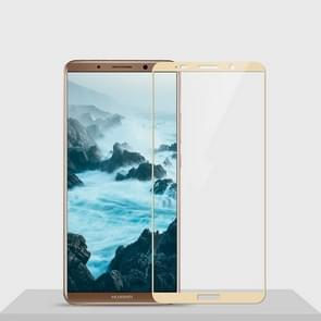 MOFI Huawei Mate 10 Pro Diamond Full Screen 9H Hardness 2.5D Explosion-proof Tempered Glass Screen Film(Gold)