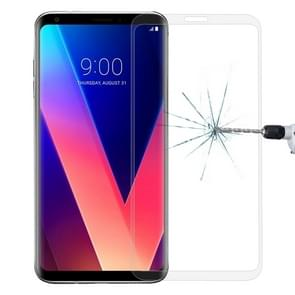 For LG V30 0.26mm 9H Surface Hardness 3D Curved Full Screen Tempered Glass Screen Protector(Transparent)