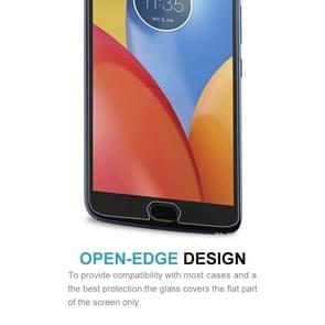 100 PCS for Motorola Moto E4 0.3mm 9H Surface Hardness 2.5D Explosion-proof Tempered Glass Non-full Screen Film