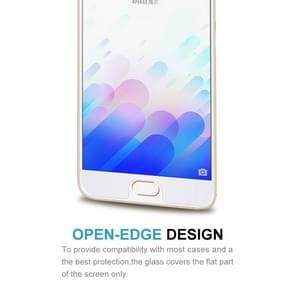 2 PCS for  Meizu M3 Note / Meilan Note 3 0.26mm 9H Surface Hardness 2.5D Explosion-proof Tempered Glass Screen Film