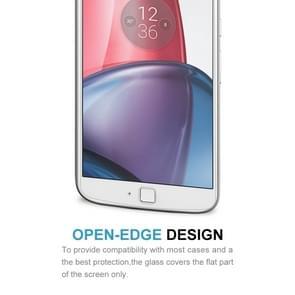 2 PCS for Motorola Moto G4 Plus 0.3mm 9H Surface Hardness 2.5D Explosion-proof Non-full Screen Tempered Glass Screen Film