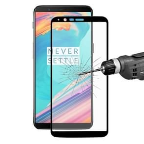 ENKAY Hat-Prince OnePlus 5T 0.26mm 9H Surface Hardness 2.5D Curved Full Screen Tempered Glass Screen Film (Black)