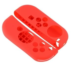 2 PCS for Nintendo Switch Game Button Silicone Protective Cover (Red)