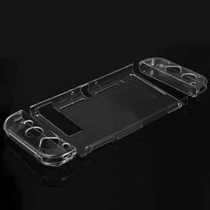 TNS-1710 4 in 1 Crystal Hard Shell Case for Nintendo Switch Body and Gamepad(Transparent)