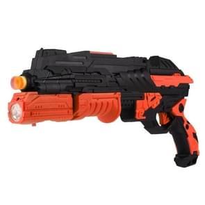 Funny Children Toy Gun CS Game Gun Soft Bullet Crystal Paintball Marbles Gun, Soft Crystal Paintball Not Included(Orange)