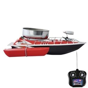 Electric Wireless Remote Control Fishing Bait Boat with Remote Controller(Red)