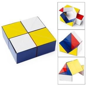 Z7 Colorful  Puzzles Magic Cube Reverse Infinity Fidget Cube Pressure Reduction Toy