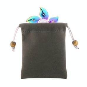 Velvet Storage Carry Pouch Bag for Fidget Hand Spinner, Size: 9.5cm x 8cm