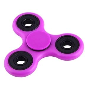 Fidget Spinner Toy Stress Reducer Anti-Anxiety Toy for Children and Adults, 4 Minutes Rotation Time, Fluorescent Light, Hybrid Ceramic Bearing + POM Material(Purple)