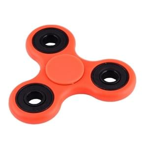 Fidget Spinner Toy Stress Reducer Anti-Anxiety Toy for Children and Adults, 4 Minutes Rotation Time, Fluorescent Light, Hybrid Ceramic Bearing + POM Material(Red)