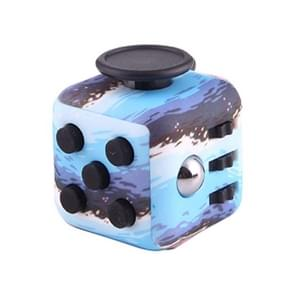 blauw Ocean patroon Fidget Cube Relieves Stress en Anxiety Attention Toy voor Children en Adults