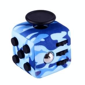 Camouflage patroon Fidget Cube Relieves Stress en Anxiety Attention Toy voor Children en Adults