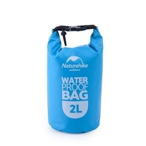 Naturehike 2L Outdoor PVC Cloth Trekking River Drifting Waterproof Bag Ultralight Swimming Bag(Blue)