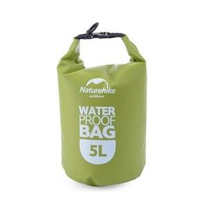 Naturehike 5L Outdoor PVC Cloth Trekking River Drifting Waterproof Bag Ultralight Swimming Bag (Green)