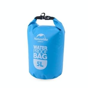 Naturehike 5L Outdoor PVC Cloth Trekking River Drifting Waterproof Bag Ultralight Swimming Bag (Blue)