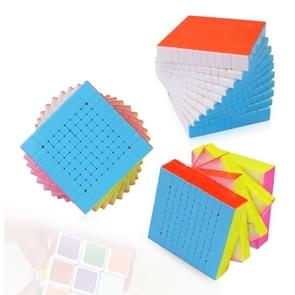 Zhisheng 10 x 10 x 10 Speed Brain Puzzle Magic Cube, Random Color Delivery