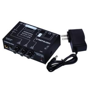 B877 3 Channel Personal Listener Headset Listening Mixer (Black)