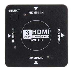 HUIYISHUN YS-186 HDMI 1.4 Version 1080P HDMI Auto Switch, 3 Ports input 1 Port output