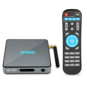 MECOOL BB2 PRO 4K UHD Smart TV BOX with Remote Controller, Android 6.0 Amlogic S912 Octa Core 2GHz, RAM: 3GB, ROM: 16GB, Support AirPlay, Miracast, OTA, Dual Band WiFi, LAN