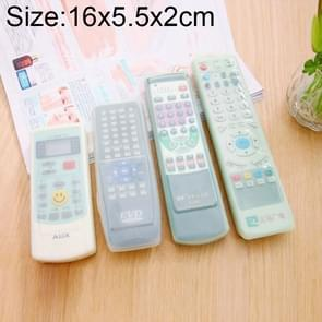 Long Design Air Conditioning Remote Control Silicone Protective Cover, Size: 16*5.5*2cm