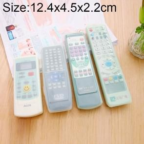Short Design Air Conditioning Remote Control Silicone Protective Cover, Size: 12.4*4.5*2.2cm