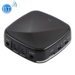 JRBC03 2 in 1 Toslink / SPDIF Optical Bluetooth Audio Receiver Transmitter Adapter (Black)