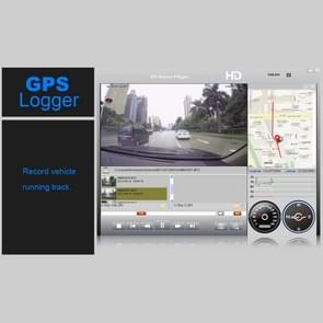 GS90C Car DVR Camera 2.7 inch LCD Screen HD 2304 x 1296P 170 Degree Wide Angle Viewing, Support Motion Detection / TF Card / G-Sensor / HDMI(Black)