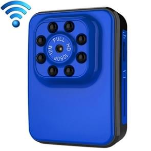 R3 WiFi Full HD 1080P 2.0MP Mini Camcorder WiFi Action Camera, 120 Degrees Wide Angle, Support Night Vision / Motion Detection (Blue)