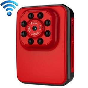 R3 WiFi Full HD 1080P 2.0MP Mini Camcorder WiFi Action Camera, 120 Degrees Wide Angle, Support Night Vision / Motion Detection (Red)