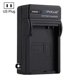 PULUZ US Plug Battery Charger for  Canon LP-E8 Battery